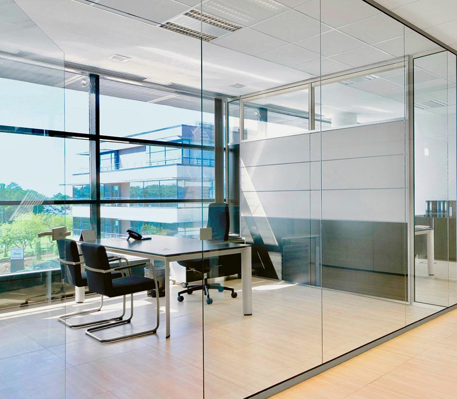office glass walls nyс