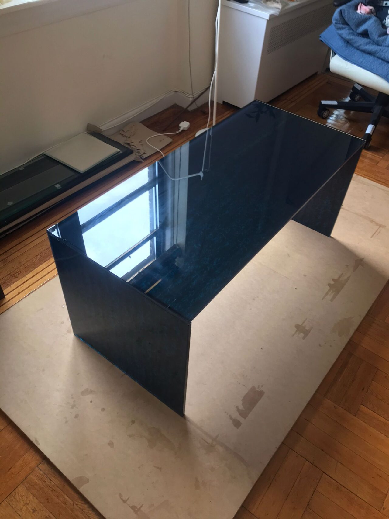 Coffe Glass Table in New York