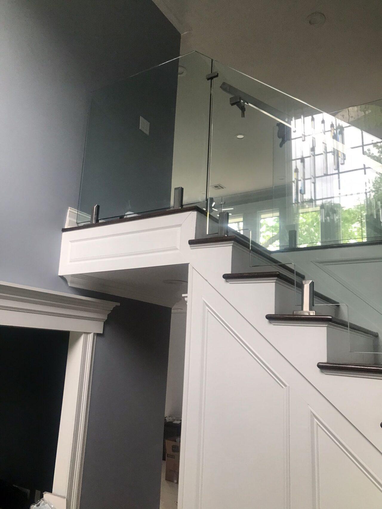 Glass Stair Railing NYC