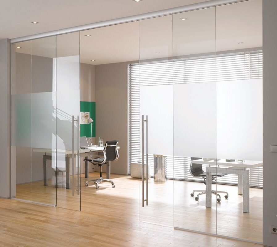 office glass doors