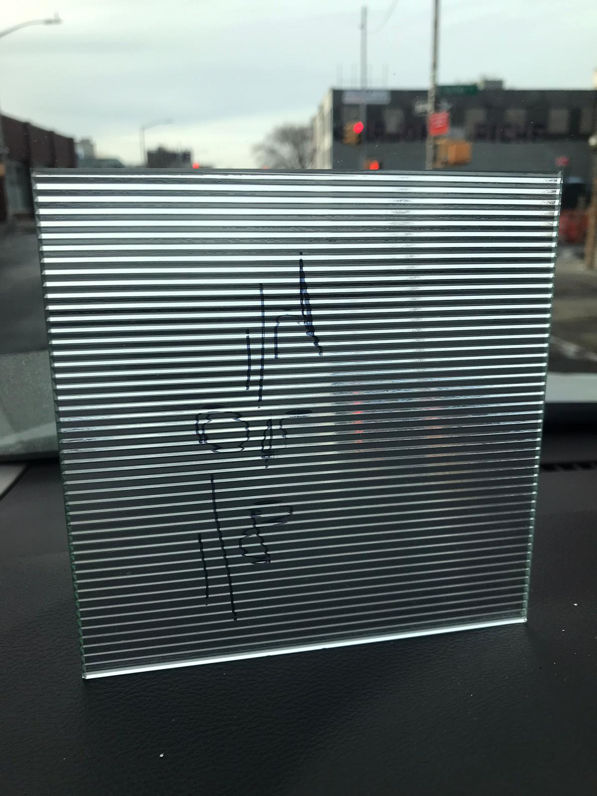 type of glass in new york